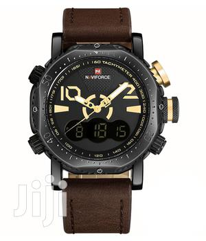 Naviforce 9094 Multifunctional Leather Watch   Watches for sale in Greater Accra, Accra Metropolitan