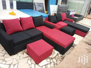 L Shaped Sofs Chair. Promotion | Furniture for sale in Greater Accra, Madina