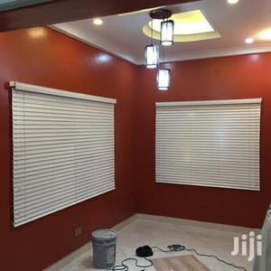 White Wooden Modern Window Blinds for Homes/Offices   Windows for sale in Greater Accra, Airport Residential Area