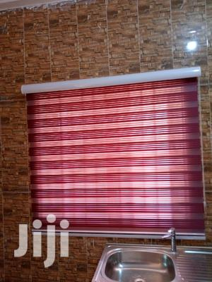 Red and White Stripes Curtains Blinds | Home Accessories for sale in Greater Accra, Kwashieman