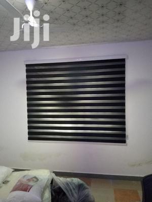 Classy Black Zebra Curtains Blinds   Home Accessories for sale in Labadi, La Wireless