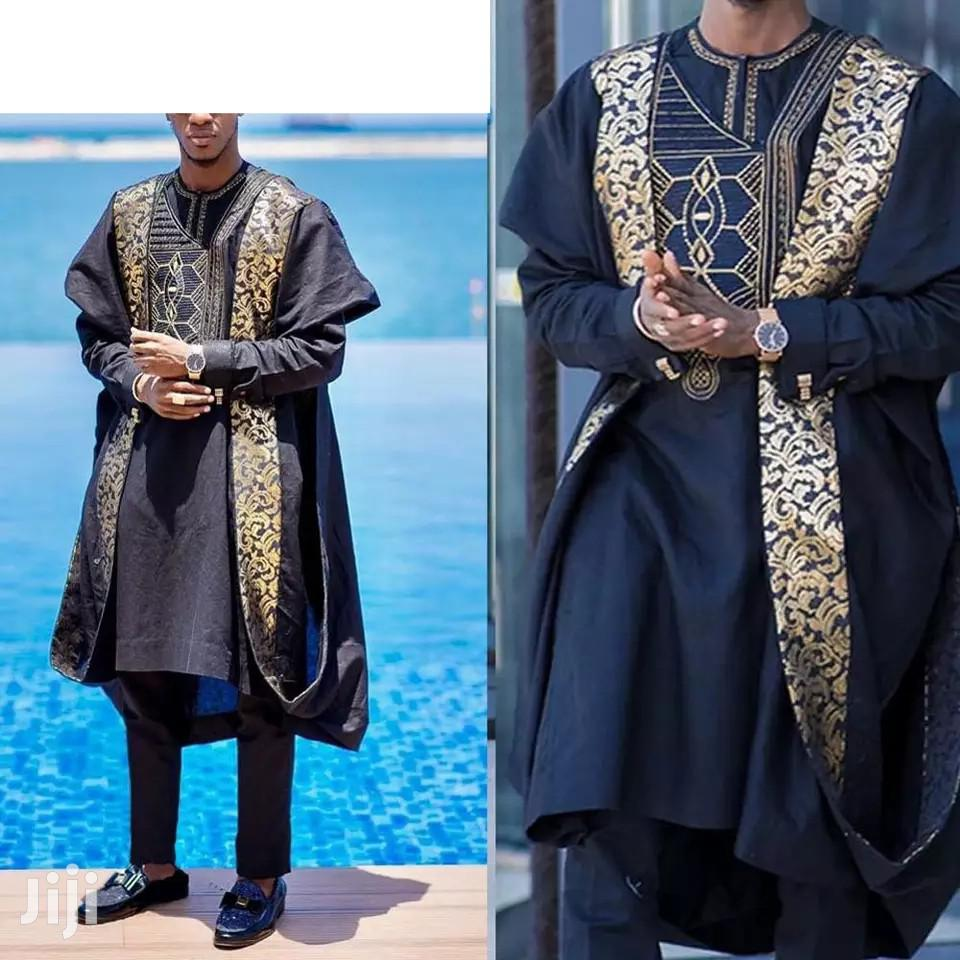 Embroidery Men's Agbada