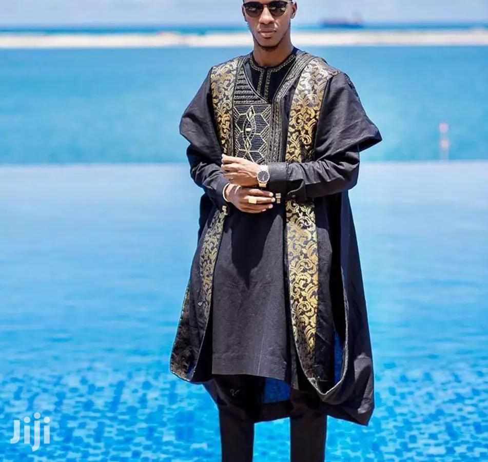 Embroidery Men's Agbada   Clothing for sale in Accra Metropolitan, Greater Accra, Ghana