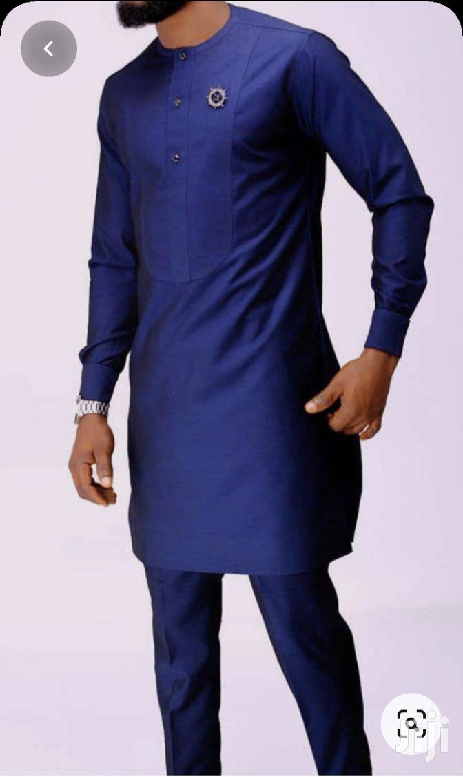 Men's Kaftan Top and Down Wear