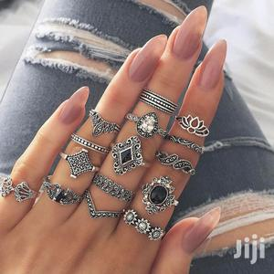 Fashion 15 Piece Bohemian Retro Ring Set | Jewelry for sale in Greater Accra, Dansoman