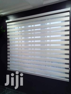 White Classy Zebra Blinds | Home Accessories for sale in Kaneshie, North Kaneshie