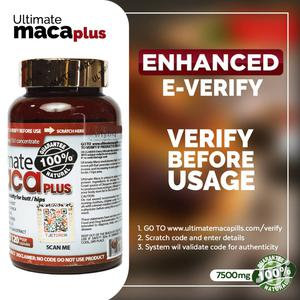 New Ultimate Maca Plus 7500mg E-Verify- 120 Caps   Vitamins & Supplements for sale in Greater Accra, East Legon