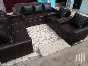 Quality Leather Sofa Set Free Delivery   Furniture for sale in Greater Accra, Tesano