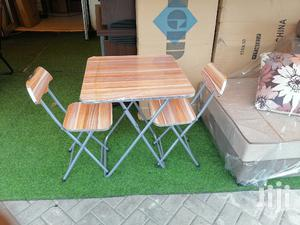 Foldable Table With 2 Chairs   Furniture for sale in Greater Accra, Adabraka