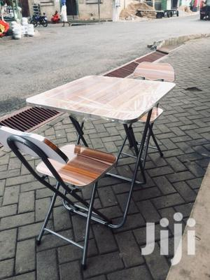 Foldable Table and Chairs   Furniture for sale in Greater Accra, Adabraka