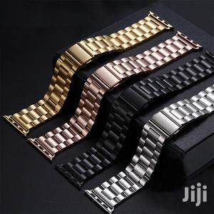 Hose Stainless Steel For Apple Watch Band/Strap Series 1-6   Accessories for Mobile Phones & Tablets for sale in Greater Accra, Dansoman