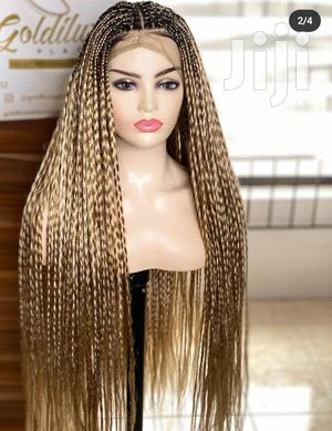 """36"""" Braided Twist Wig Cap 